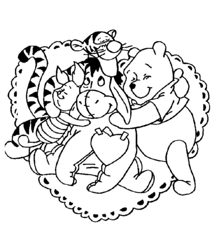 San valentino disegni per bambini da colorare - San valentino orso da colorare pagine da colorare ...