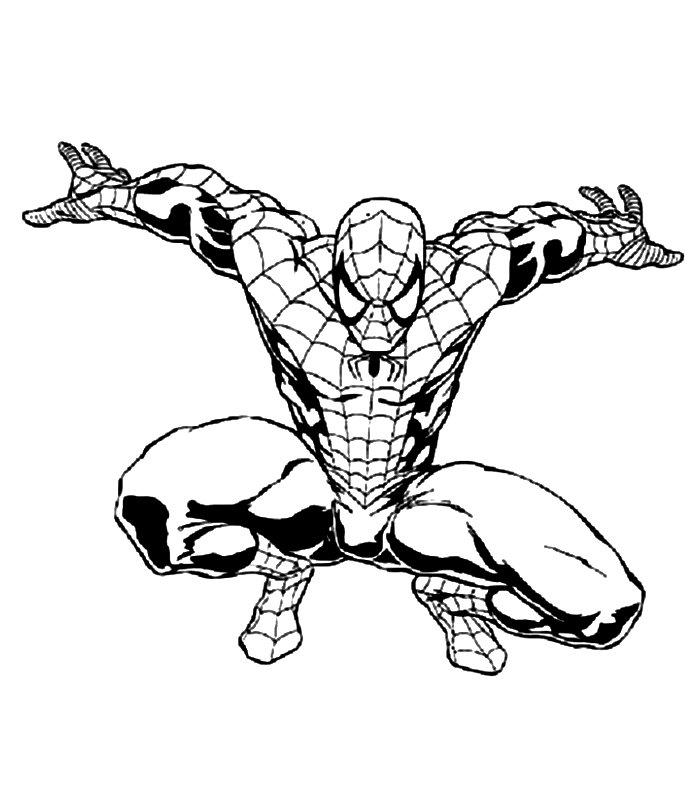 Spiderman 3 disegni per bambini da colorare for Immagini di spiderman da colorare
