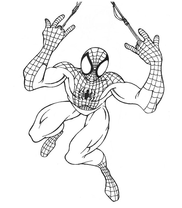 Spiderman 4, Disegni Per Bambini Da Colorare