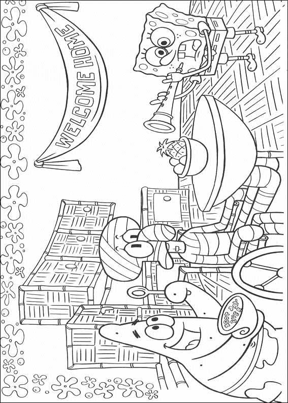 Spongebob Disegni Per Bambini Colorare